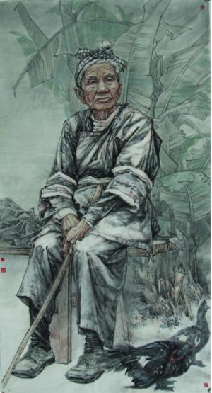 全国名人书画艺术风采展示--刘艺青
