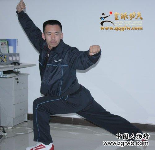 华夏文化遗产武术少林拳传承人--王雪松