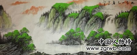 迎接党的十九大胜利召开,中国文化进万家优秀书画家风采展--余剑宇