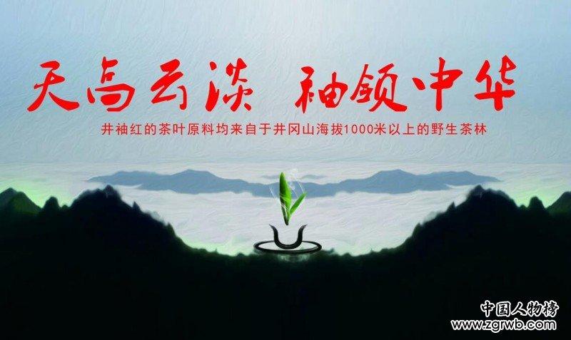"CCTV我爱你中华栏目总编靳新国到井冈山""井袖红""野生茶基地考察"