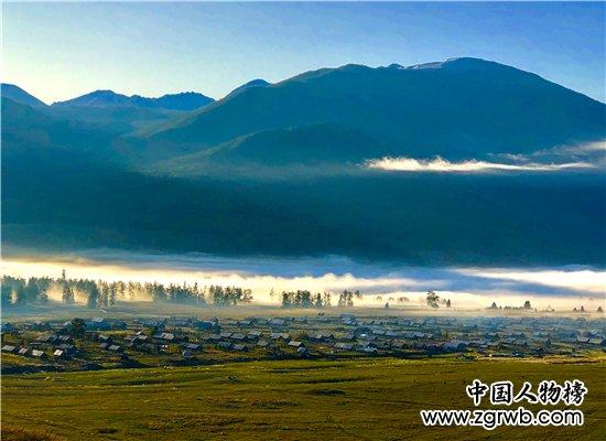 绿水青山中国红 · 喀纳斯金秋摄影大赛在喀纳斯景区举行开幕式