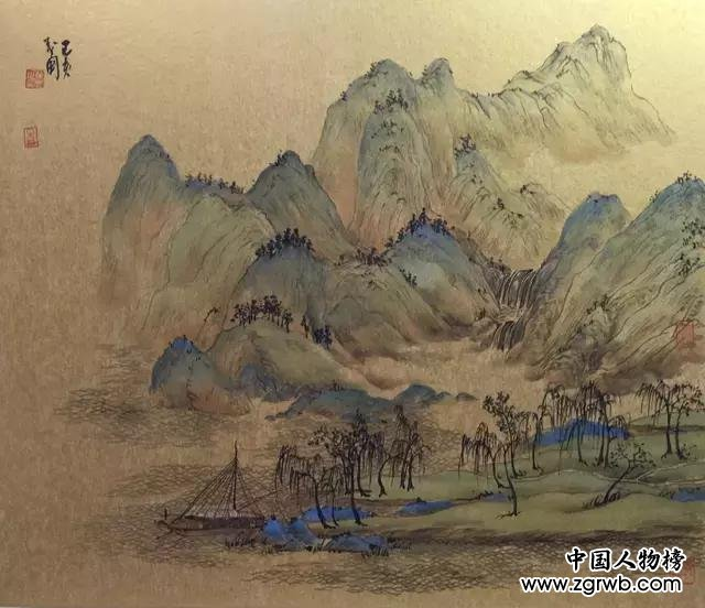 咫尺千里意境深远——田茂国绘画艺术印象