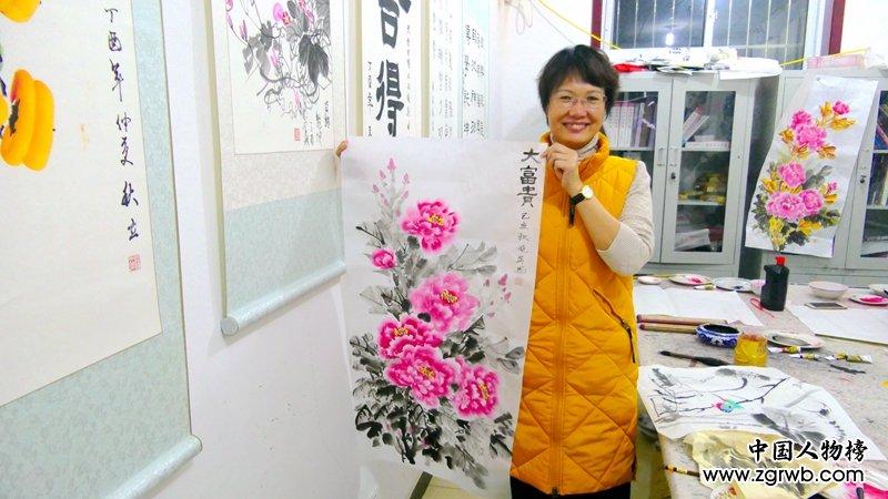 书画家叶长福办农民书画夜校三年多, 义务为村民教授书画课