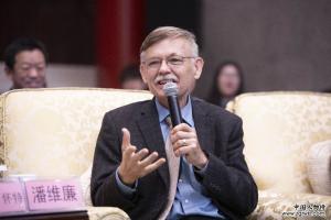 潘维廉担任用英语讲中国故事形象大使