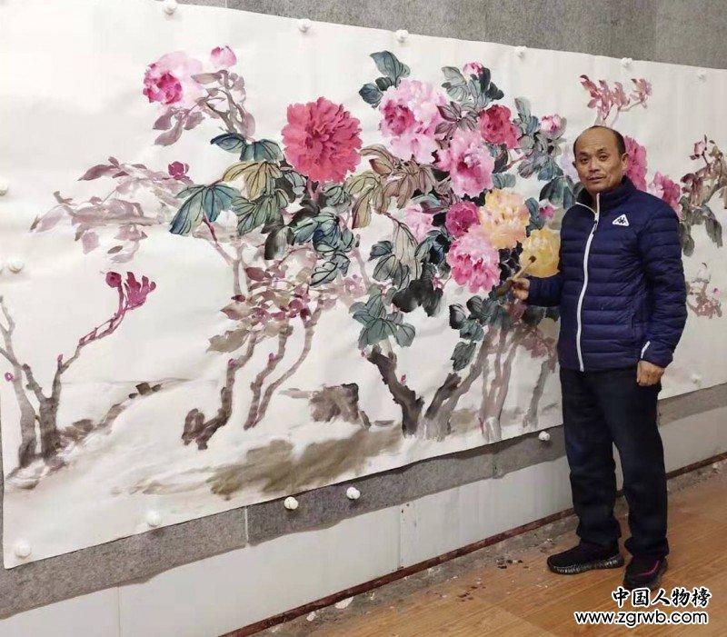 王传东——中宣盛世国际书画院院士、著名书画家