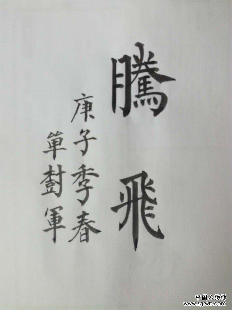 单树军——中宣盛世国际书画院会员、著名书画家