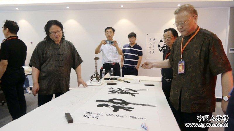 建党百年将军书画展在上海举行