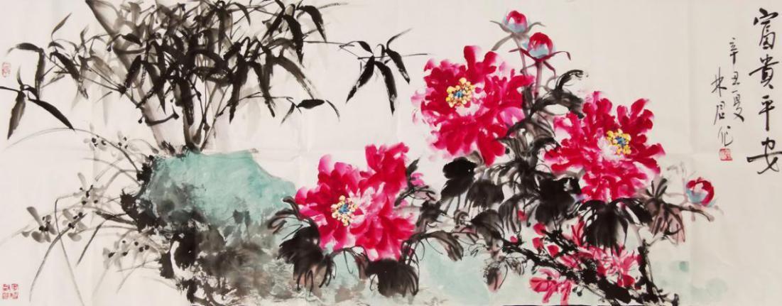 大 美 不 忍 堪 摘 ——以著名画家李林君的画梅艺术为例