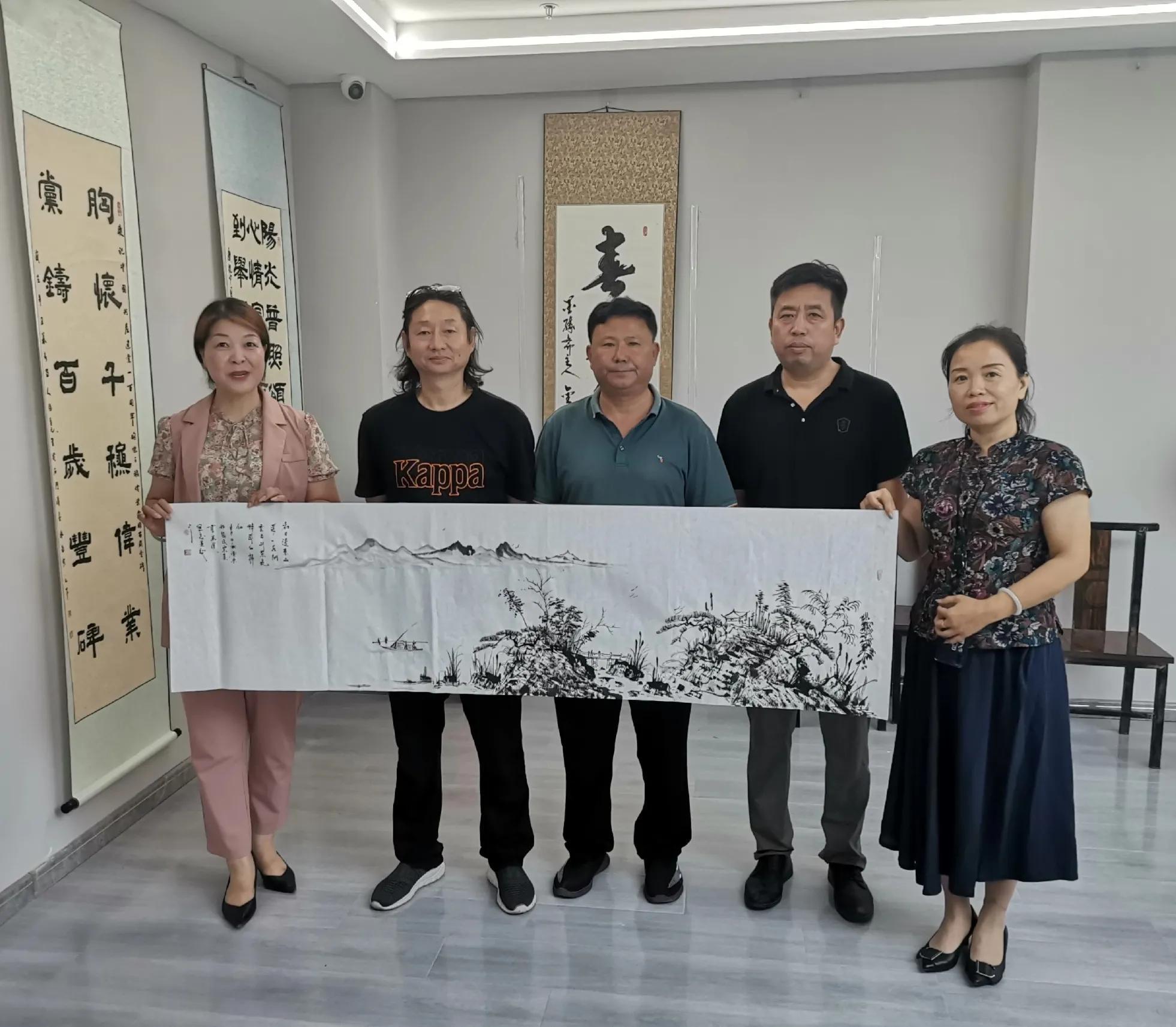邯郸张氏宗亲书画院巜迊双节》金秋翰墨飘香书画活动