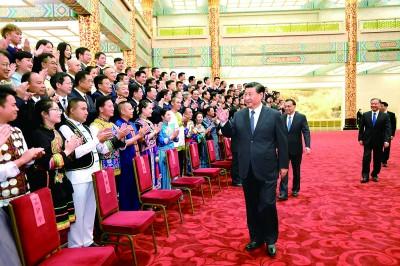 第六届全国少数民族文艺会演开幕式文艺晚会在京举行